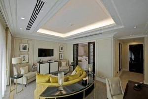 Audio Visual Wellesley-Hotel-Bedroom-with-TV cable installation