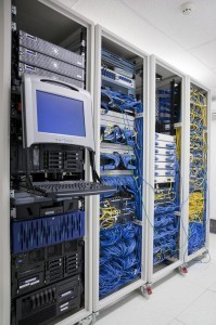 Data Cabling London - Data Rack