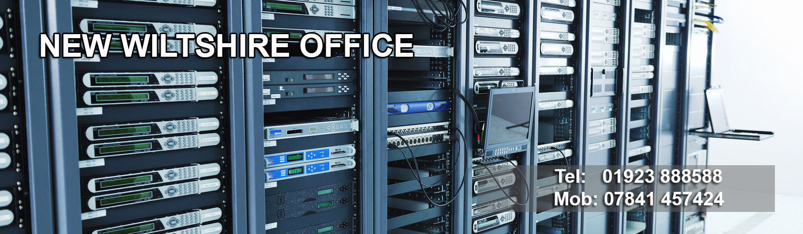 Data Cabling Wiltshire Office - NM Cabling