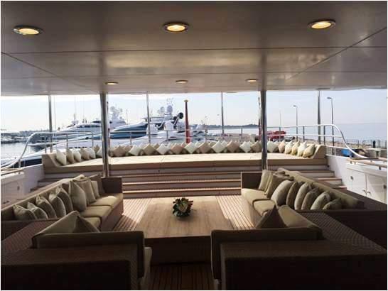 Wellesley Yacht (Anedigmi) Data Cabling and refurbish -deck area