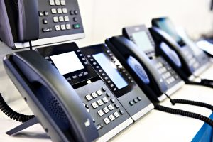Power over Ethernet for VOIP Telephones