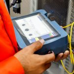 fibre cable reapir and testing with OTDR London