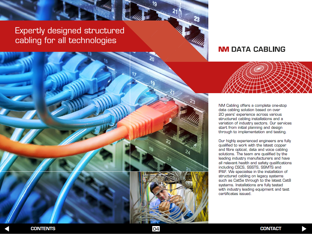 Structured Cabling Brochure