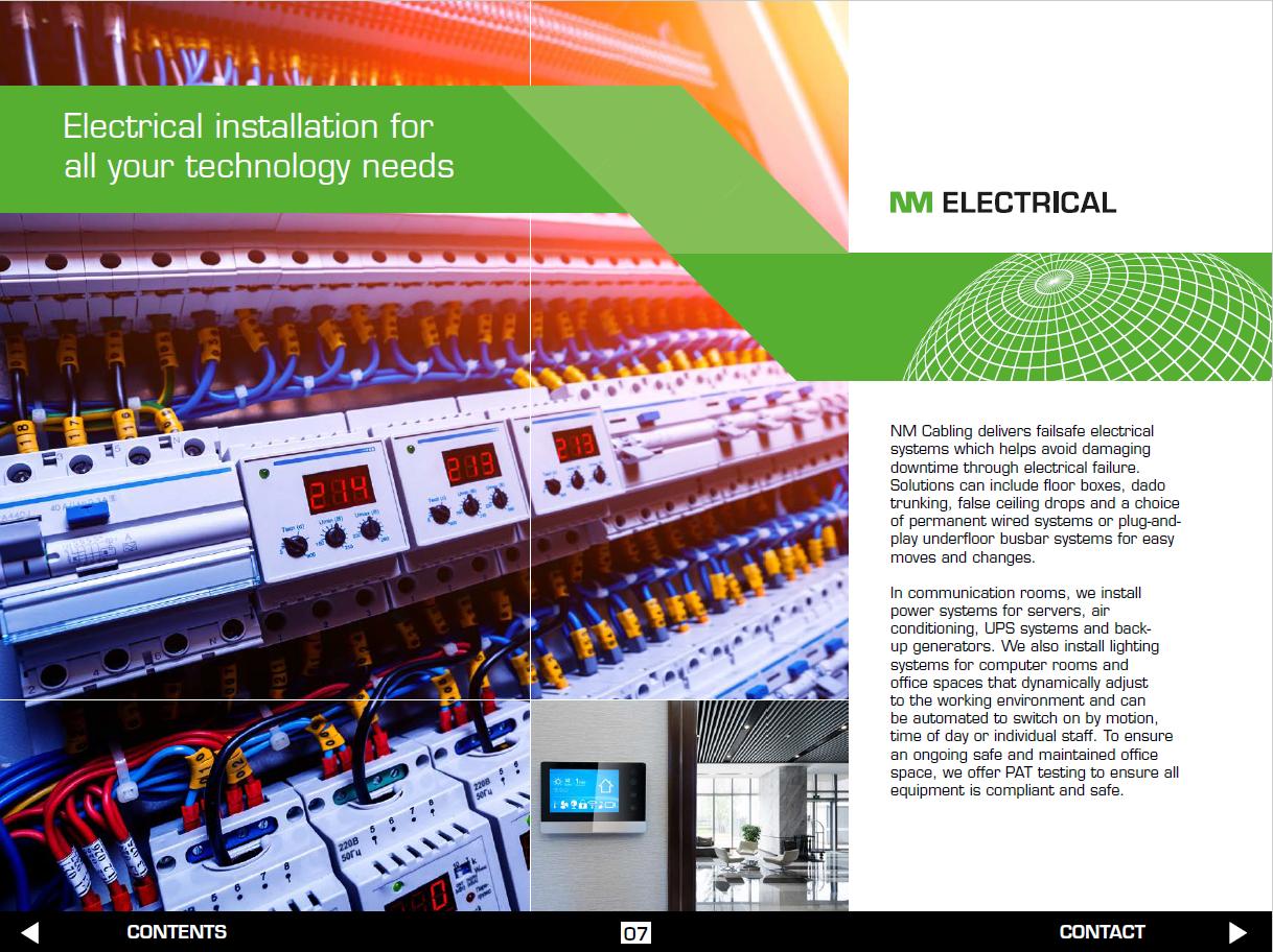 Network Installation Brochure